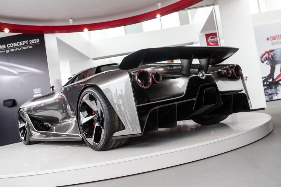 El Nissan Concept 2020 Vision Gran Turismo salta de los videojuegos a